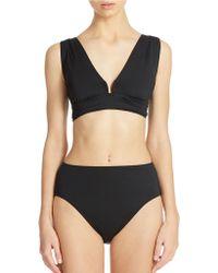 DKNY Square U Wire Bikini Top - Lyst