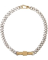 Marc By Marc Jacobs - Large Bow Tie Necklace - Lyst