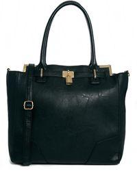 Asos Padlock Handheld Bag - Lyst