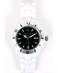 Blue & Cream - 420 Limited Edition Timepiece In Green/white - Lyst