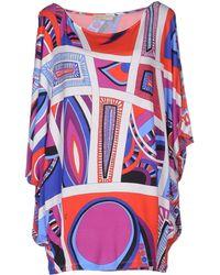 Emilio Pucci T-Shirt multicolor - Lyst