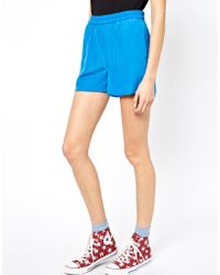 American Vintage - Jersey Shorts - Lyst