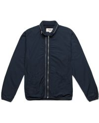 YMC | Navy Double Zip Jacket | Lyst