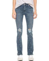 James Jeans Buddy Slouchy Fit Boyfriend Jeans - Vintage Love blue - Lyst