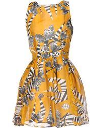 Thakoon Addition Multicolor Short Dress - Lyst