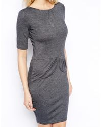 Sugarhill Be Mine Jersey Dress With Bow Back - Lyst