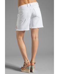 Citizens of Humanity Ines Relaxed Cut Off Short - Lyst