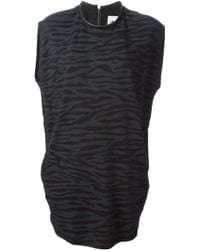 Adidas Animal Print Tunic Dress - Lyst