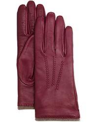 Grandoe - Seamed Leather Tech Gloves - Lyst