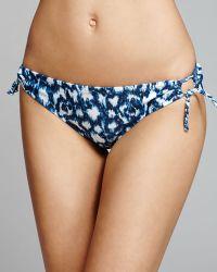 Profile Blush By Gottex Wild Blue Side Loop Bikini Bottom - Lyst