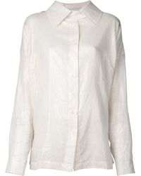 Vivienne Westwood Anglomania Beige Adaptation Blouse - Lyst