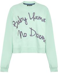 House of Holland   Llama Drama Sweatshirt   Lyst