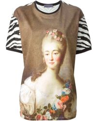 Emanuel Ungaro Long Digitally Printed T-Shirt - Lyst