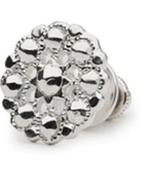 Alice Made This Kendall Silver Lapel Pin - Lyst