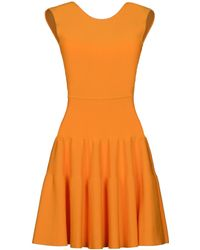 Issa Short Dress red - Lyst
