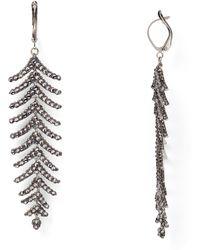 Roni Blanshay - Spinal Drop Earrings - Lyst