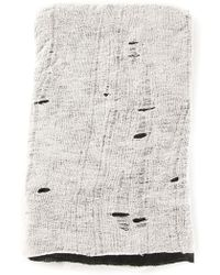 Tissu Tire - Layered Beanie - Lyst