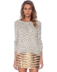 Raga Sequin Sweater - Lyst