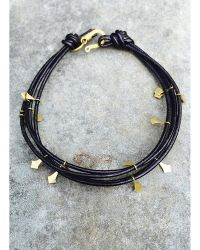 Botticelli's Niece - 18k Gold Ants Bracelet - Lyst
