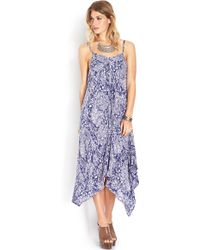 Forever 21 Go Baroque Trapeze Dress - Lyst