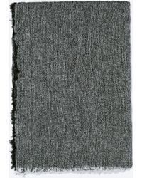 Zara Two-Tone Woven Scarf - Lyst