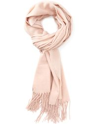 Forever 21 - Classic Tasselled Solid Scarf - Lyst