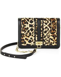 BCBGMAXAZRIA Ysabel Cheetah Print Shoulder Bag - Multicolor