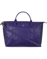 Longchamp Le Pliage Handbag in Amethyst Amethyst - Lyst