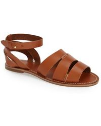 Tommy Bahama 'Petrinna' Ankle Strap Sandal - Brown