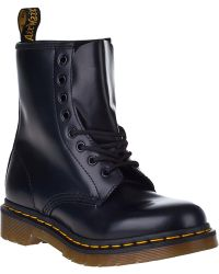 Dr. Martens 1460 Lace-Up Boot Black Leather - Lyst