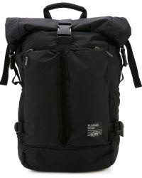 Mt.rainer Design Buckled Backpack - Black
