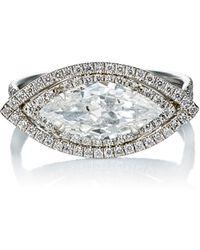 Mp Mineraux - Diamond Ring - Lyst