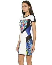 Just Cavalli Floral Dress - Floral - Lyst