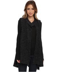 Free People Stand and Deliver Cape Sweater - Lyst
