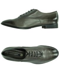 Alberto Fermani Lace-Up Shoes gray - Lyst