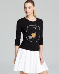 MILLY Jumper Novelty Goldfish - Black