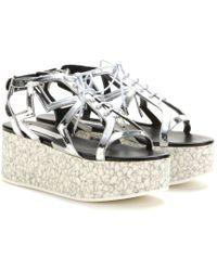 Stella McCartney Platform Sandals - Lyst