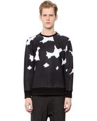 Neil Barrett | Cow-flage Printed Neoprene Sweatshirt | Lyst