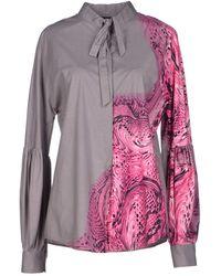 Just Cavalli Shirt - Lyst