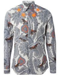 Givenchy Printed Shirt - Lyst