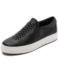 Belle By Sigerson Morrison Sarasi Slip On Sneakers - Black - Lyst