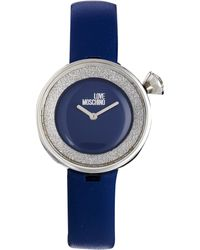 Boutique Moschino - Moschino Cheap And Chic Yes I Will Blue Watch - Lyst