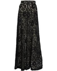 alice + olivia Issa Bellshaped Ballgown Skirt black - Lyst