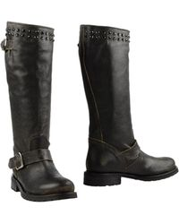 Twin Set Boots - Gray