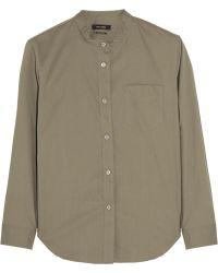 Isabel Marant Wayne Cotton-Poplin Shirt - Lyst