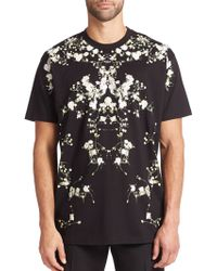 Givenchy Floral T-Shirt - Lyst
