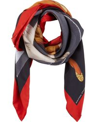 Givenchy Bambi  Female Nude Scarf - Lyst