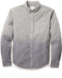 Band Of Outsiders Corduroy Degrade Shirt - Lyst