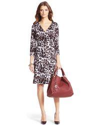 Diane Von Furstenberg New Julian Two Jersey Wrap Dress - Lyst