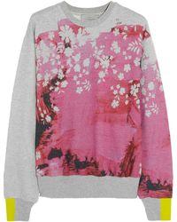 Preen Hutton Printed Cotton Sweatshirt - Lyst